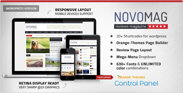 Novomag – News Journal Theme – WP Theme Download