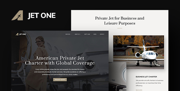 Jet One – Deepest Airline WordPress Theme – WP Theme Download