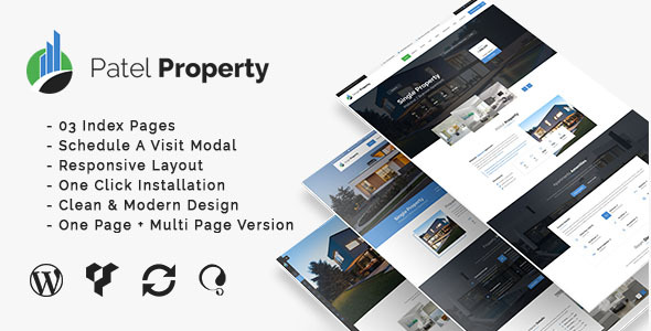PatelProperty – Single Property Real Property WordPress Theme – WP Theme Download