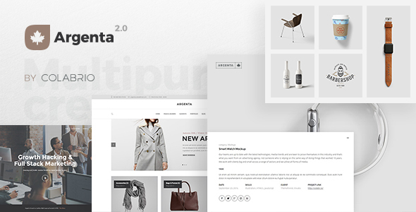 argenta inventive multipurpose wordpress theme download