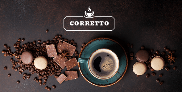 corretto a theme for espresso shops and cafes download
