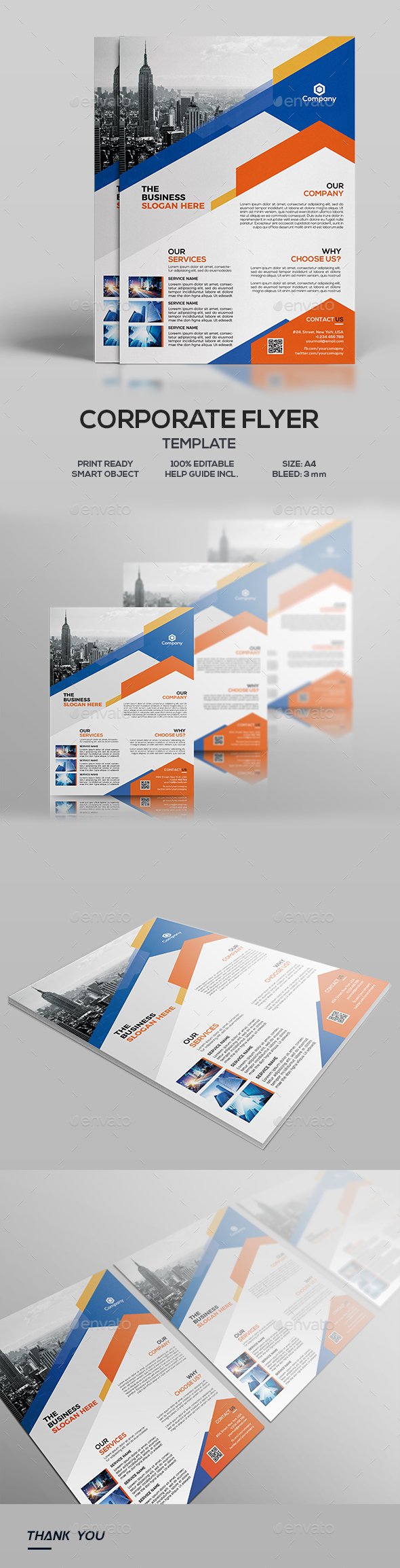 corporate flyer download