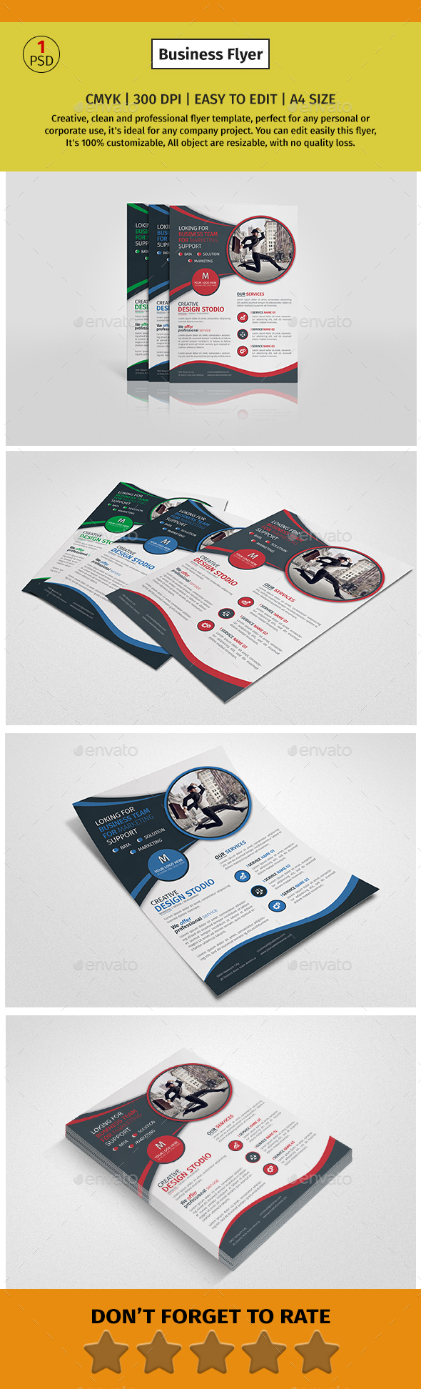 a4 company alternate flyer 1 download