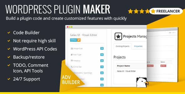 WordPress Plugin Maker – Freelancer Model – Download
