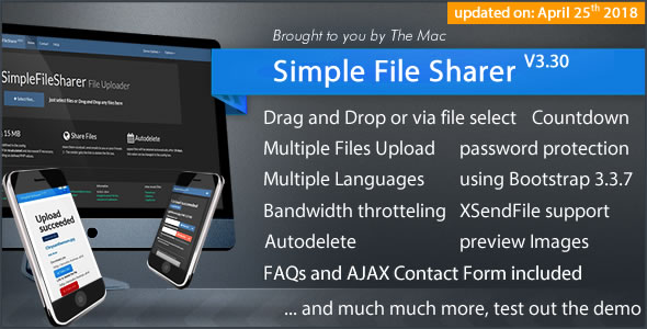 Straightforward File Sharer – Download