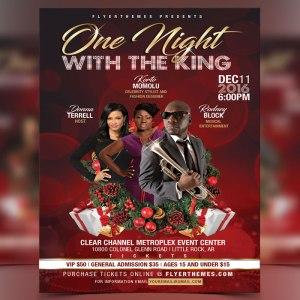 Christmas Gala Flyer Template