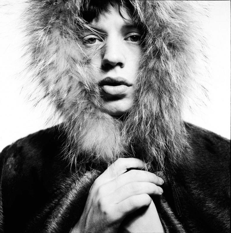 <p><b>David Bailey</b>, <i>Mick Jagger</i>, 1964.</p>
