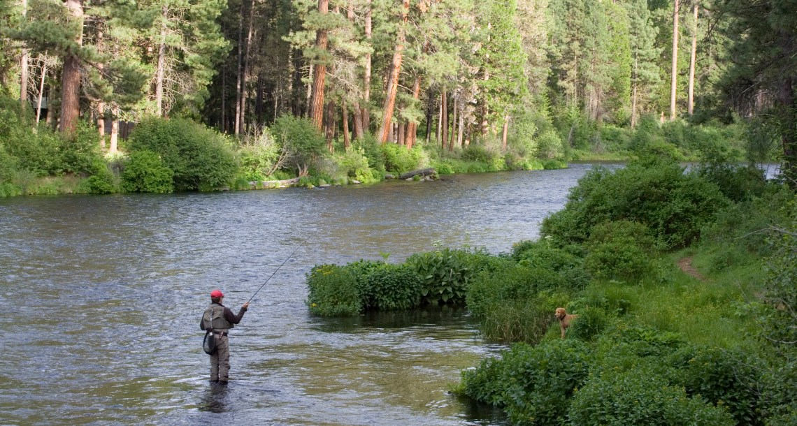 Central oregon fly fishing shop guided fishing sisters for Guided fishing trips in oregon