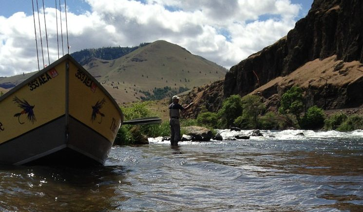 Guide Trip on the Deschutes
