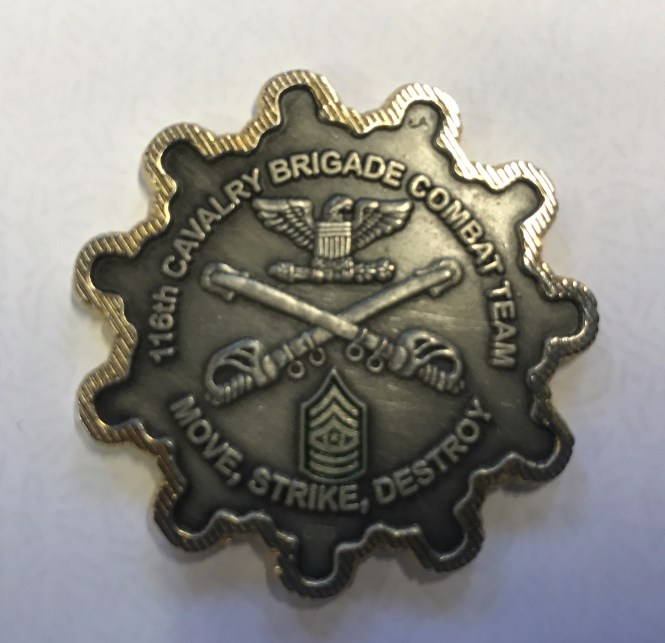 16th Calvary Brigade Combat Medal