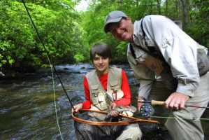 Hazel Creek Day Trip, Hazel Creek Fly Fishing Guides Bryson City Great Smoky Mountains Trout Fishing Guided Trips