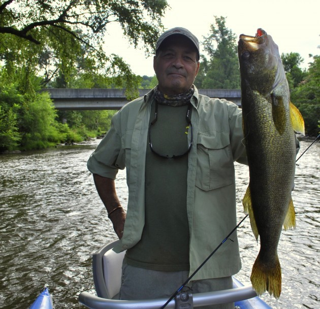 Record Walleye on the Tuckasegee River North Carolinna, Fly Fishing the Smokies, Float Trips on the Tuckasegee River, Fly Fishing the Tuckasegee River,