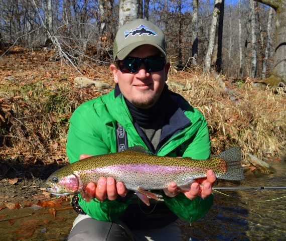 Fall Fly Fishing, Cherokee Rainbow Trout, Trout Fishing Guides in Cherokee Bryson City Gatlinburg Pigeon Forge Smoky Mountains,