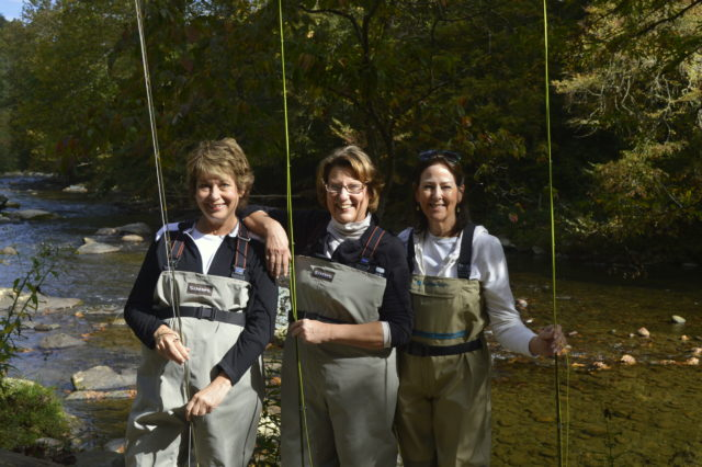 Highlands Cashiers Fly Fishing Guides, Ladies Fly Fishing, Fly Fishing the Smokies