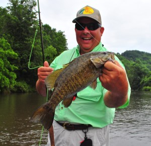 Fly Fishing, Tuckasegee River, Smallmouth Bass, Smallie, Fly Fishing the Smokies