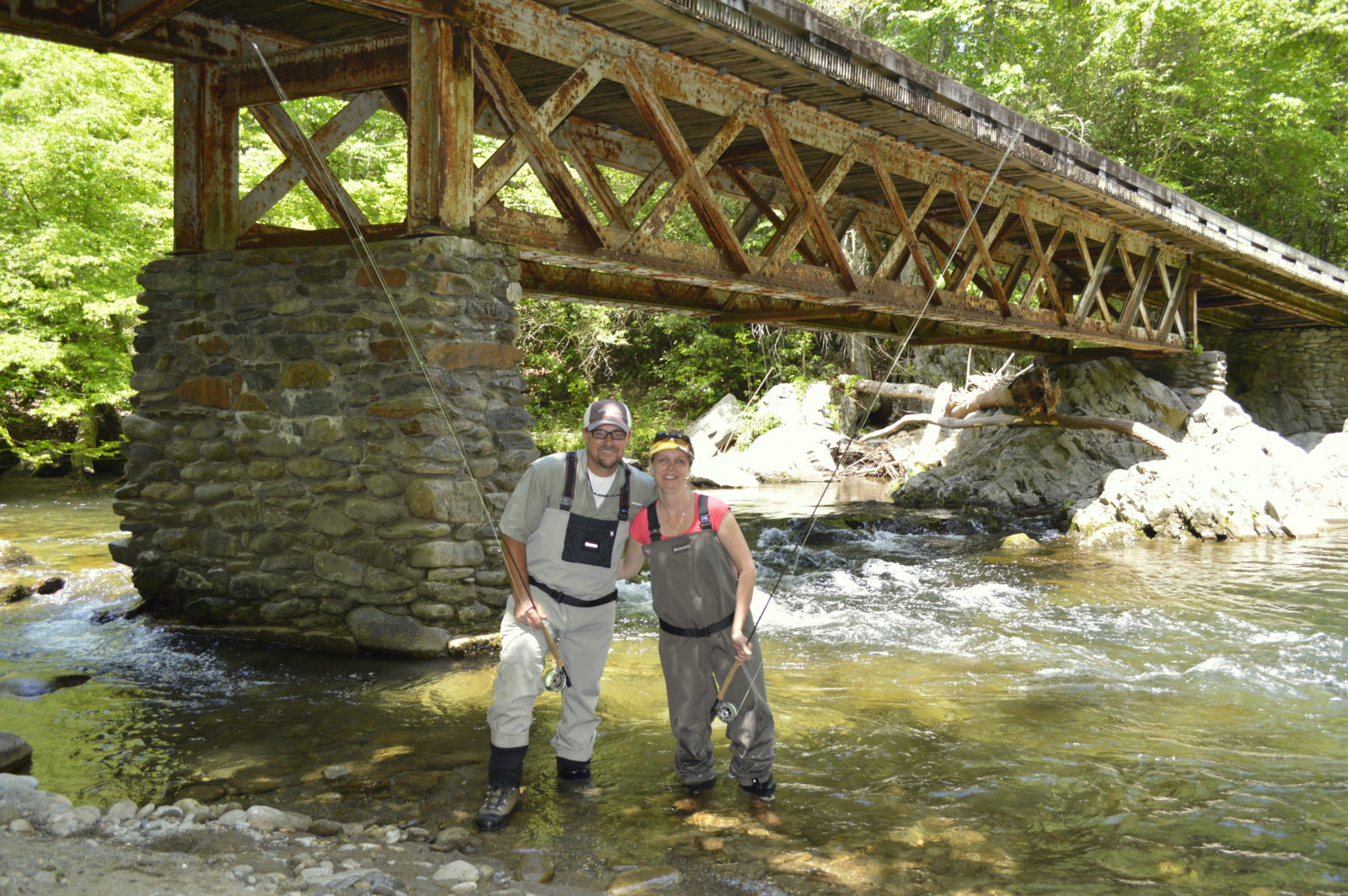 Summer fly fishing in the smoky mountains for Smoky mountain trout fishing