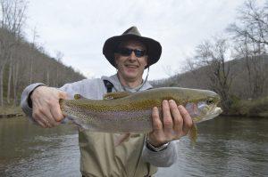 Winter Trout Fishing, Fly Fishing the Smokies