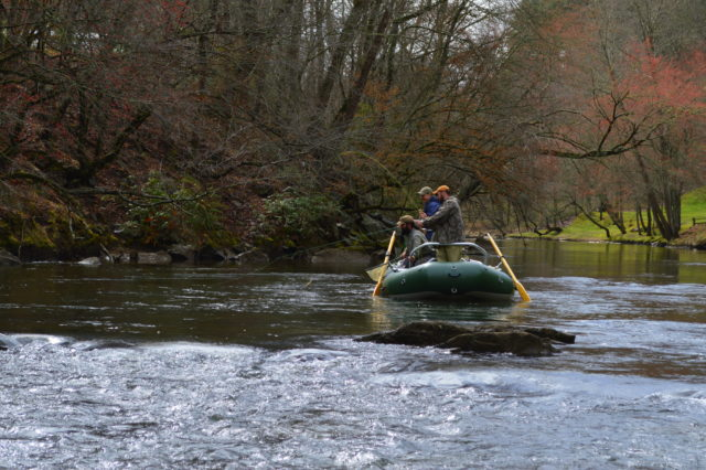 Fly Fishing Float Trips, Float Trips, Fly Fishing the Tuckasegee River,