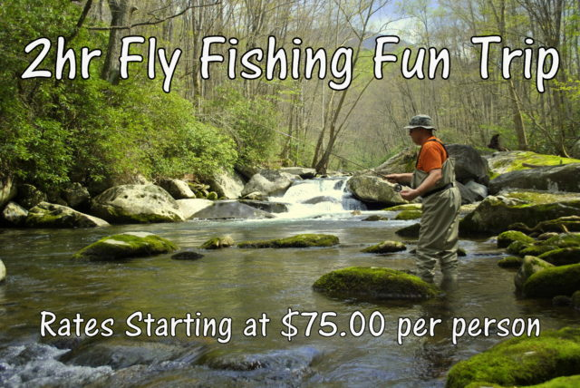 Fly Fishing Fun Trip, Gatlinburg Fly Fishing Guides,