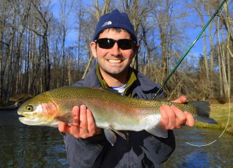 Mid Winter Smokies Fishing Report, Fly Fishing the Smokies, Fly Fishing Great Smoky Mountains, Mid Winter Fly Fishing Report