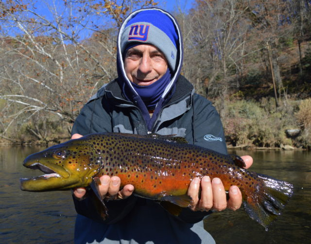 Winter fly fishing trophy trout fly fishing special for Fishing in gatlinburg tn