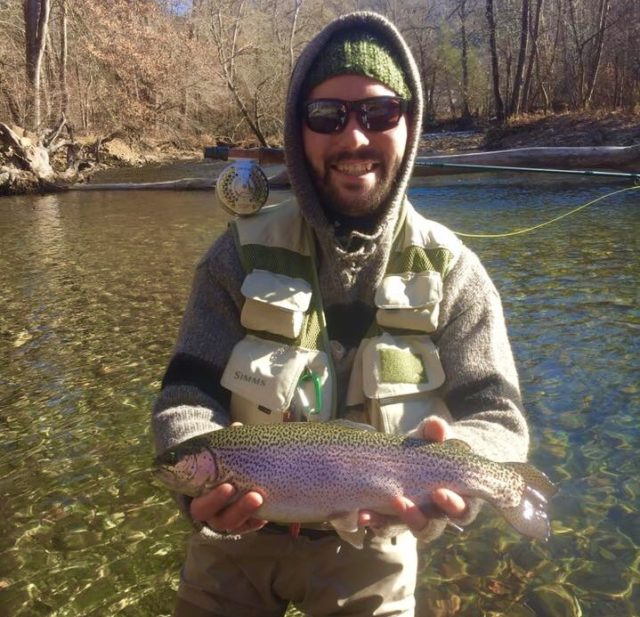 Cherokee Trophy Section, Great Smoky Mountains Fishing Report December 14th, Fly Fishing the Smokies