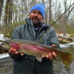Fly Fishing Guides the Great Smoky Mountains National Park Gatlingburg Bryson City Cherokee Pigeon Forge,Snow Day Fly Fishing, Fly Fishing in the snow, Winter Fly Fishing Great Smoky Mountains,