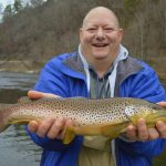 Fly Fishing the Smokies Brown Trout Tuckasegee River