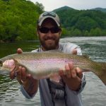 Highlands Fly Fishing Guides, Tuckasegee River Fishing Report May 17th, Fly Fishing the Smokies