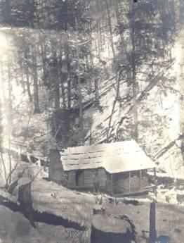 Horace Kephart cabin on Hazel Creek, Hazel Creek Fly Fishing Guides