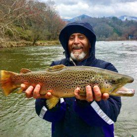 November Fly Fishing Smoky Mountains, Fly Fishing the Smokies, Great Smoky Mountains Trout Fishing,