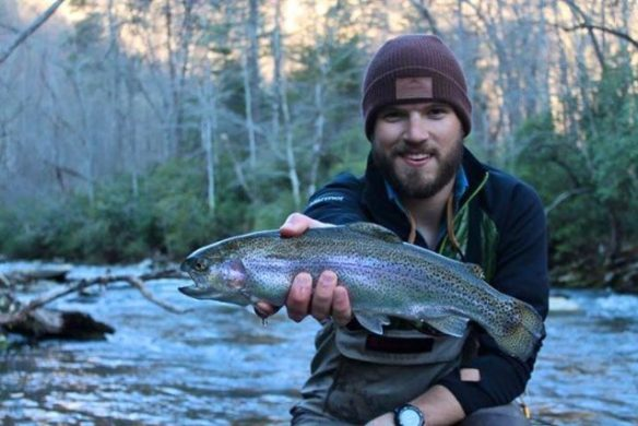 Great Smoky Mountains Fishing Report mid March, Trout