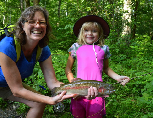 Fly Fishing Fun Trip, Fly Fishing Guide Trips for Familes Kids Gatlinburg Pigeon Forge Sevierville Great Smoky Mountains, Smoky Mountain Kids Fishing Trips