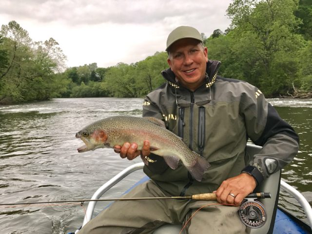 Tuckasegee River Fly Fishing Report May 5th