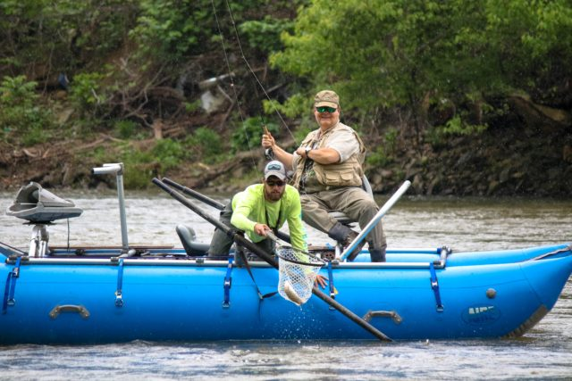 Tuckasegee River Fishing Report May