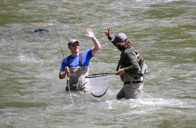 Tuckasegee River Fishing Report May 19th