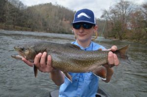Fly Fishing the Smokies, Eugene Shuler Fly Fishing Guide, Tuckasegee River Fly Fishing, Western North North Carolina,