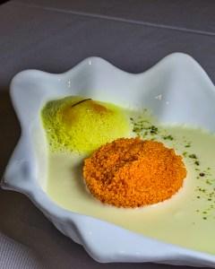 Jalebi Caviar at Masala Library
