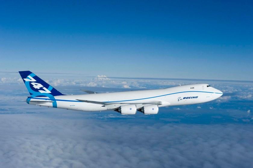 747-8 First Flight Everett WA