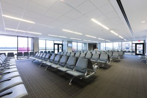 East Texas Regional Airport - Terminal Seating