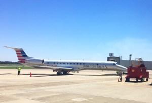 Enplanements photo - East Texas Regional Airport