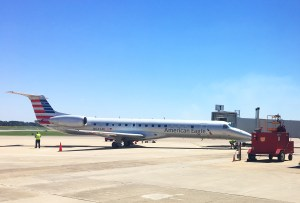 Enplanements photo - East Texas Regional Airport