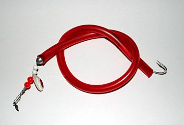 santini tube and worm red