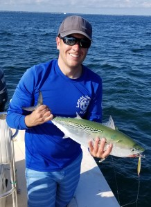 Killing it on light tackle for Cape Cod Albies