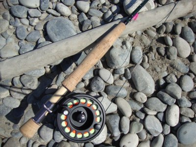 ... fly fishing pink salmon gear!