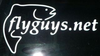 flyguys.net Window Decal