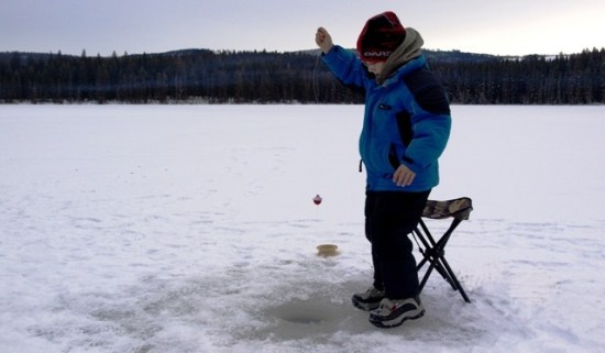 Ice Fishing Safety Tips & Equipment ... at the ice fishing hole!