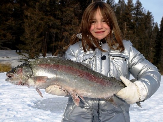 Ice Fishing 101 - How to Ice Fish Kamloops