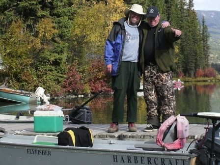 A Wonderful Whitetail Lake Fishing Vacation ... fishing buddies