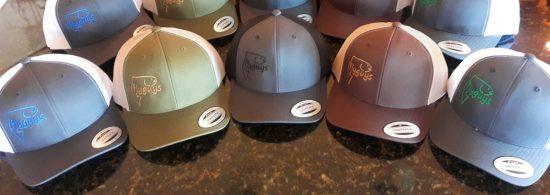 flyguys Retro Trucker Snap Back Fishing Hats
